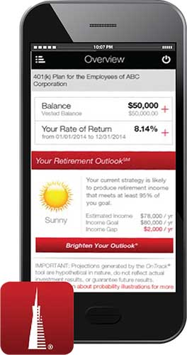 Mobile Plan for Retirement