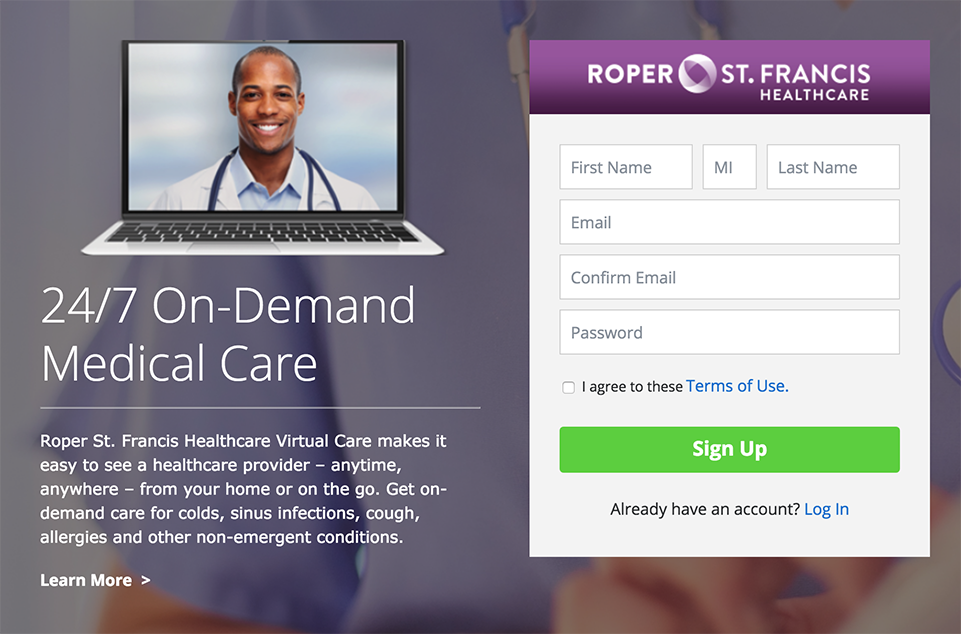 Roper St. Francis Healthcare Virtual Care